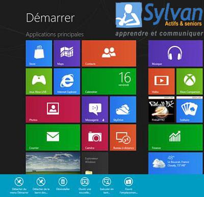 illustration de La Rochelle : formations Windows 8 particuliers et professionnels
