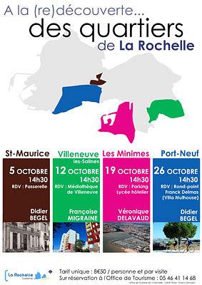 illustration de La Rochelle : (re)découvrir le quartier de Villeneuve-les-Salines, vendredi 12 octobre à 14h30