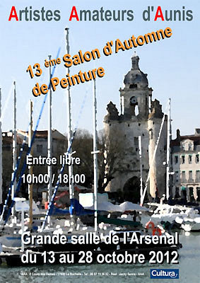 illustration de La Rochelle exposition : salon d'automne AAA, vernissage samedi 13 octobre 2012