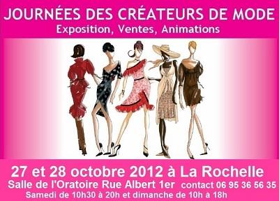 illustration de La Rochelle : Matlama aux Journées des Créateurs de Mode, samedi 27 et dimanche 28 octobre 2012
