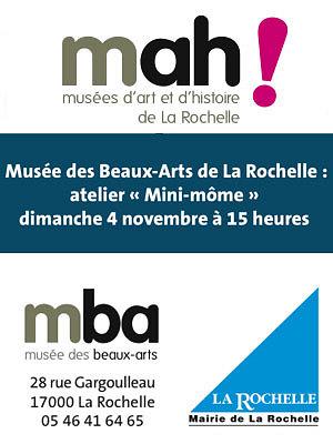 illustration de Musée des Beaux-Arts de La Rochelle : atelier