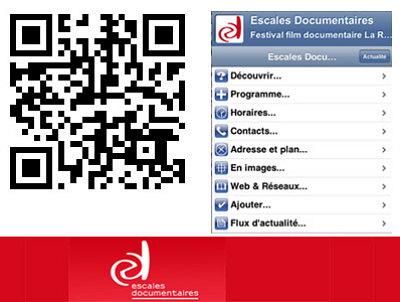illustration de La Rochelle : festival des Escales Documentaires, 6 - 11 novembre 2012, ajoutez à votre mobile !
