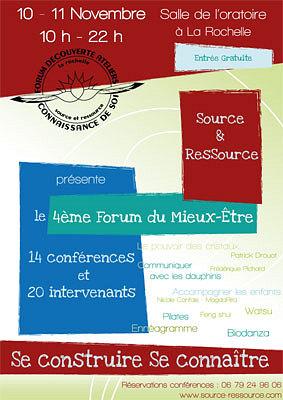 illustration de La Rochelle : atelier - conférence Feng Shui au Forum du mieux-être, samedi 10 novembre à 14h