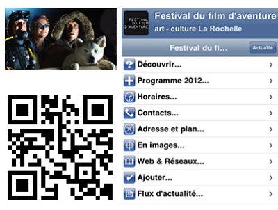 illustration de La Rochelle : festival du film d'aventure 15-17 novembre, ajoutez à votre mobile !