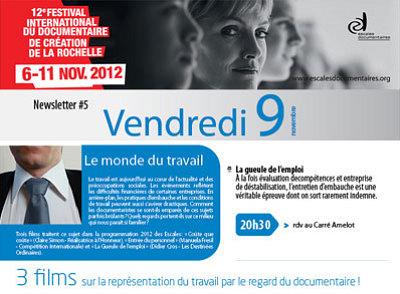 illustration de La Rochelle : le monde du travail aux Escales Documentaires, vendredi 9 novembre