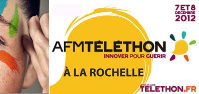 illustration de La Rochelle : les associations mobilisées pour le Telethon 2012 les 7 et 8 décembre 2012