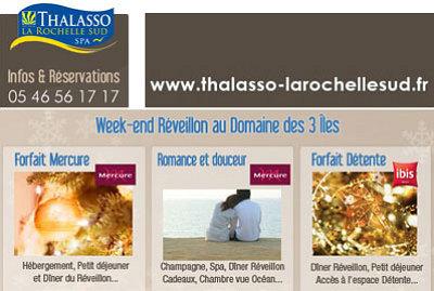 illustration de La Rochelle sud : offres spéciales week-end et réveillon du nouvel an à Châtelaillon-Plage