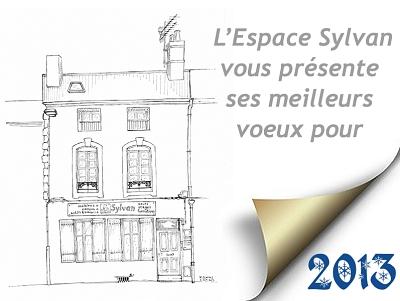 illustration de Sylvan La Rochelle vous souhaite une bonne année 2013 !
