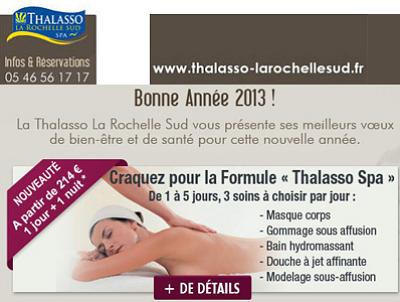 illustration de La Rochelle Sud : nouveaux week-end et séjours Thalasso-Spa