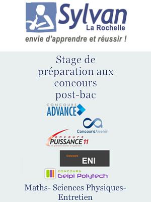 illustration de Post-Bac : stage de préparation aux concours 2013 des écoles d'ingénieurs à La Rochelle