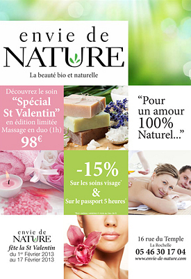 illustration de La Rochelle : beauté bio et naturelle à partager pour la Saint Valentin