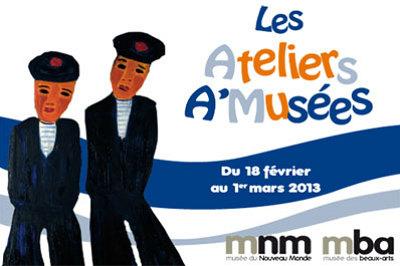 illustration de La Rochelle : ateliers aux musées d'art et d'histoire, vacances d'hiver 2013