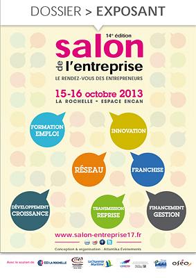illustration de La Rochelle : Salon de l'entreprise 2013, 10% de remise sur les support de com' jusqu'au 28 février 2013