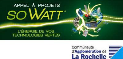 illustration de La Rochelle éco-activités : appel à projets So Watt, candidature jusqu'au 31 mars 2013