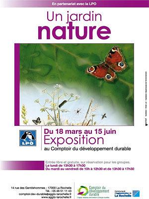 illustration de La Rochelle : un jardin nature, exposition jusqu'au 15 juin 2013