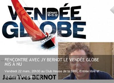illustration de La Rochelle : Vendée Globe, conférence de Jean-yves Bernot, vendredi 22 mars à la SRR