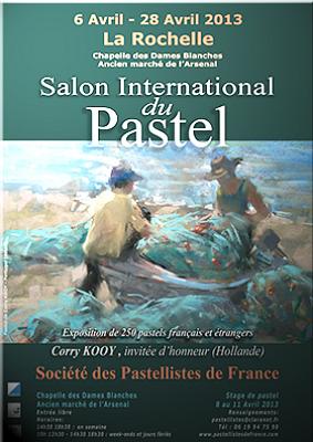 illustration de Salon international du pastel à La Rochelle du 6 au 28 avril 2013
