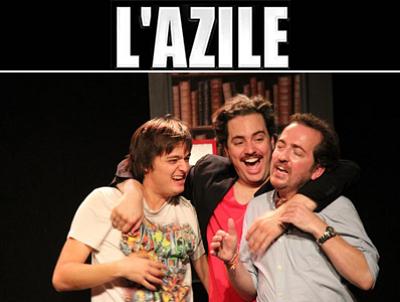 illustration de Humour à La Rochelle : Merci du cadeau à l'Azile 13 et 14 avril 2013