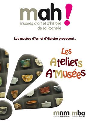 illustration de La Rochelle : Ateliers A'musées, vacances de Pâques 15-26 avril 2013