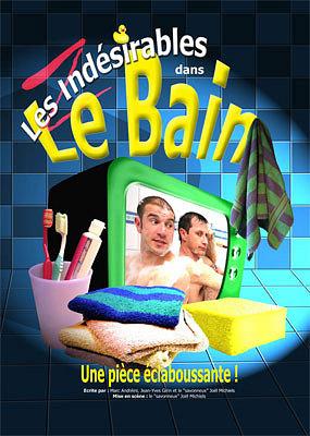 illustration de La Rochelle : le bain des Indésirables, humour belge frapadingue à l'Azile, vend. 3 et sam. 4 mai 2013