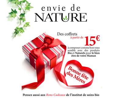 illustration de La Rochelle beauté bio et naturelle : idées cadeaux pour la fête des mères chez Envie de Nature