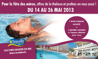 illustration de Châtelaillon - La Rochelle sud : idées cadeaux Thalasso, week-end, bien-être  pour la fête des mères
