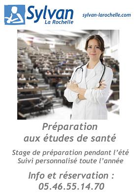 illustration de Sylvan La Rochelle : Stage préparation 1ère année de médecine