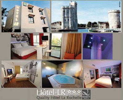 illustration de Hôtel La Rochelle : offre spéciale week-end pour le 2e anniversaire de l'Hotel-LR !