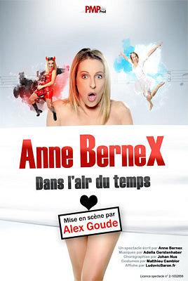 illustration de Humour à La Rochelle : Anne Bernex dans l'air du temps au café-théâtre l'Azile du vend. 7 et sam. 8 juin 2013