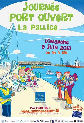 illustration de Journées de la Mer à La Rochelle : Port ouvert à La Pallice, dimanche 9 juin 2013 9h-18h