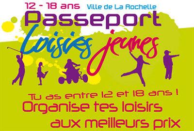 illustration de La Rochelle : passeport jeunes et chèques-loisirs pour l'été, début des ventes les 22, 24 et 25 juin 2013