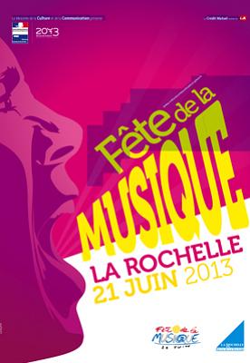 illustration de La Rochelle fête la musique, vendredi 21 juin 2013 !