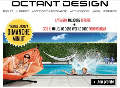 illustration de Shopping design : le hamac Headdemock de Fatboy en promo les 22 et 23 juin 2013