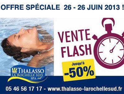 illustration de La Rochelle Sud : vente flash beauté du corps et du visage - 30% du 25 au 28 juin 2013