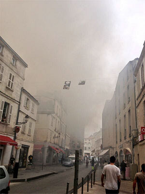 illustration de La Rochelle : grave incendie à l'Hôtel de Ville, vendredi 28 juin 2013