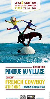illustration de La Rochelle : ciné, French Cowboy & The One en concert, Dj, le festival du film à la Sirène, jeudi 4 juillet
