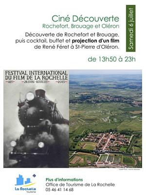 illustration de De La Rochelle à Rochefort, Brouage et l'île d'Oléron : journée-découverte et soirée-ciné, samedi 6 juillet 2013