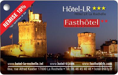 illustration de La Rochelle : Hotel-LR aux Minimes, remise de 10% par tel au 05 46 45 40 46