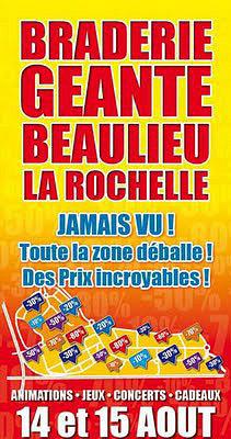 illustration de La Rochelle - Puilboreau : grande braderie à Beaulieu les 14 et 15 août 2013
