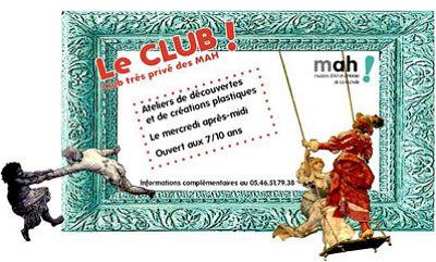 illustration de A La Rochelle : découverte des musées d'art et d'histoire et arts plastiques, nouveaux ateliers du mercredi pour les 7 - 10 ans