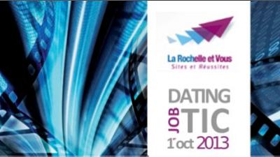illustration de Emploi et numérique : journée job dating TIC à La Rochelle, mardi 1er octobre 2013