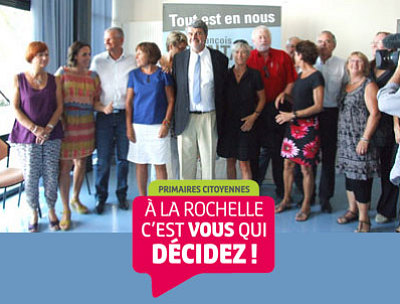 illustration de Parti socialiste : Jean-François Fountaine doit réunir 400 parrainages pour la primaire ouverte de La Rochelle