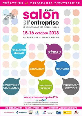 illustration de La Rochelle : le salon de l'entreprise ouvre ses portes, mardi 15 octobre 2013