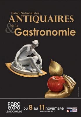 illustration de La Rochelle, votre hôtel pour les salons des antiquaires et de la gastronomie 8-11 novembre 2013