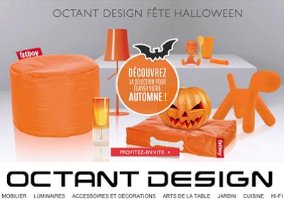 illustration de La Rochelle - France : le Design passe à l'orange chez octantdesign.com, sélection Halloween  2013