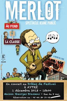 illustration de Agglo de La Rochelle : Drôle(s) de festival à Aytré pour les enfants et les familles, jusqu'au 4 décembre 2013.