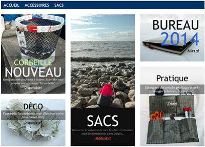 illustration de La Rochelle - France : pour vos cadeaux découvrez la nouvelle boutique en ligne Echo-Mer !