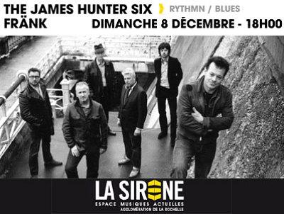 illustration de Rhythm'n' blues du dimanche à La Rochelle : The James Hunter Six en concert à La Sirène le 8 décembre à 18h !