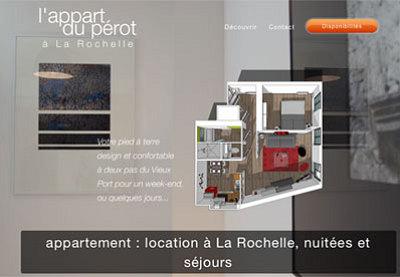 illustration de Noël à la Rochelle : l'Appart du Pérot, l'annexe à louer qui remplace votre chambre d'amis !