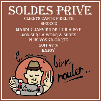 illustration de La Rochelle : SOLDE PRIVE chez Sirocco